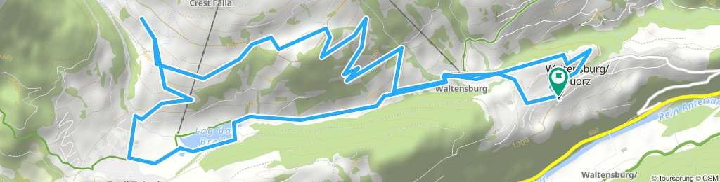 Easy Afternoon Course In Waltensburg/Vuorz