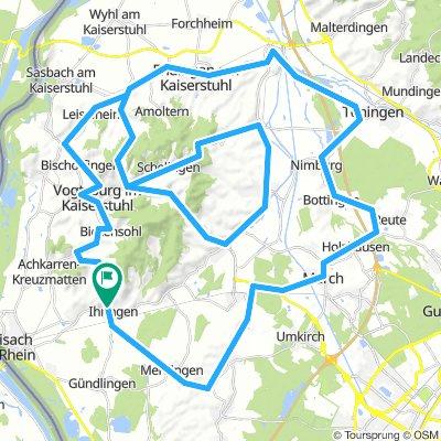 01-02 Kaiserstuhl_Tour 2-Start in Riegel