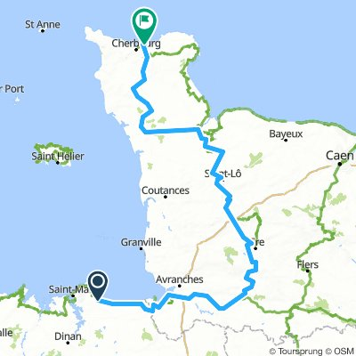 Tour De Manche Stage 3: Normandy Tracks