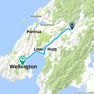Upper Hutt to Wellington