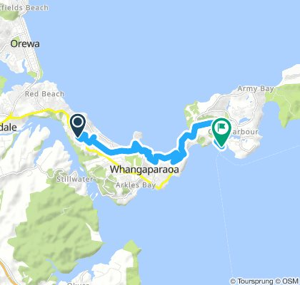 Stanmore Bay to Gulf Harbour