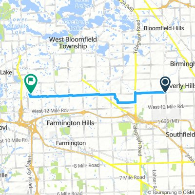Southfield 13 mile to Farmington Hills