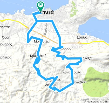Snail-Like Morning Route In Chania