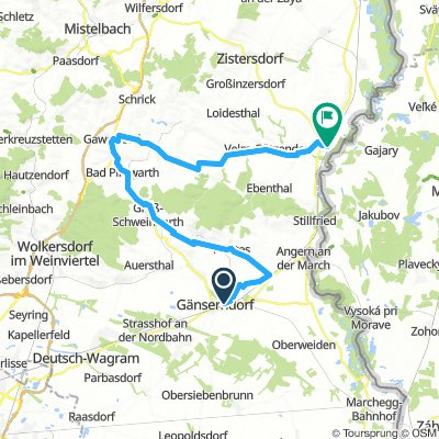 Gänserndorf - Dürnkrut