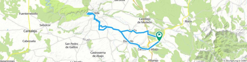 Cerezo - Sepúlveda puente Talcano I/V