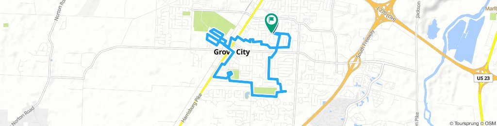 Spred Out Friday Ride In Grove City