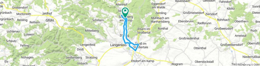 Triathlonstrecke Schönberg am Kamp