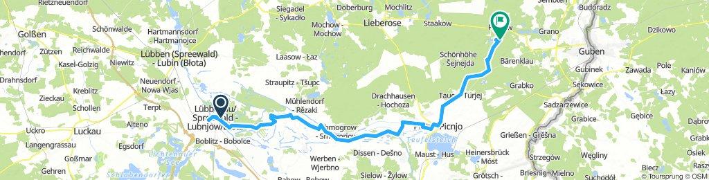 4. Tag: Spreewald - Pinnower See