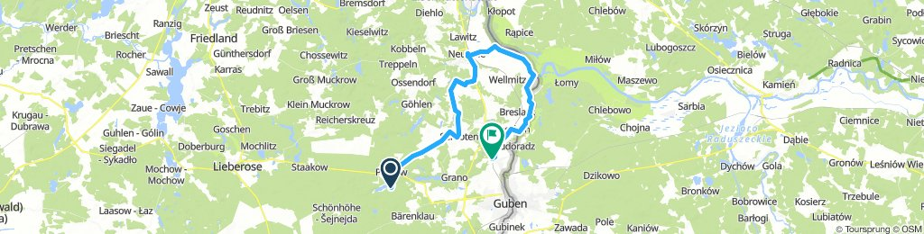 5. Tag: Pinnower See - Kloster Neuzelle - Groß Breesen