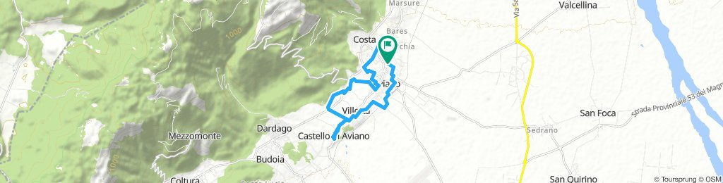 Extensive Afternoon Route In Aviano