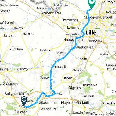Lens, France / Roubaix, France