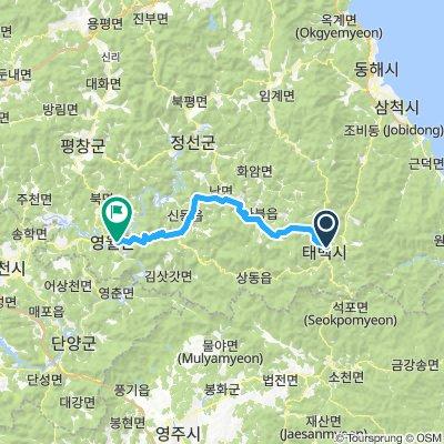 Taebaek - Yeongwol