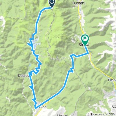 Downhill Babele - Peștera - Sinaia