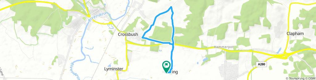 Lengthy Morning Ride In Arundel