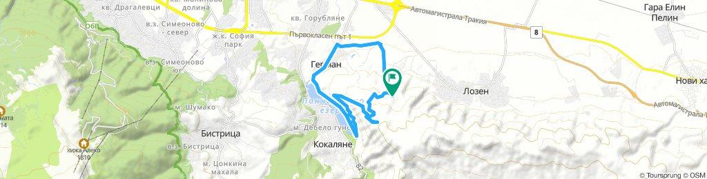 Long Saturday Ride In Sofia
