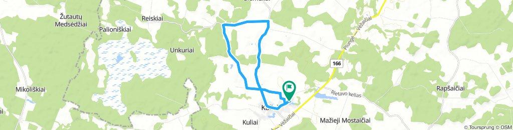 Snail-Like Saturday Route In Kumžaičiai