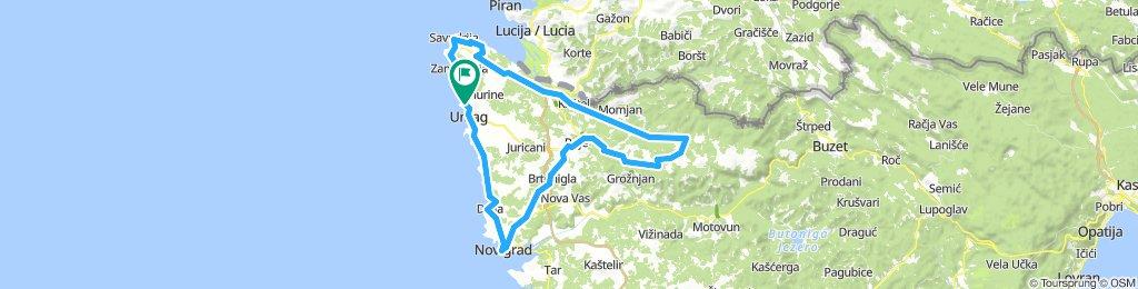 Kroatien Umag 80km