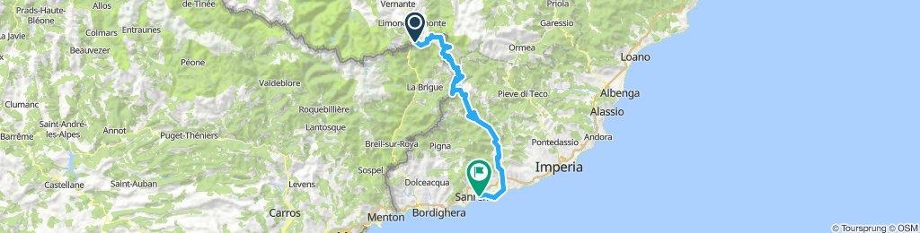 LIMONE-Sanremo traversata 2018