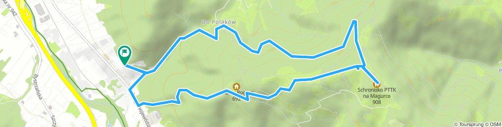 Bielsko-Biała Stalowa - Magurka - Bielsko Biała Stalowa
