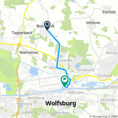 Spred Out Domingo Track In Wolfsburg