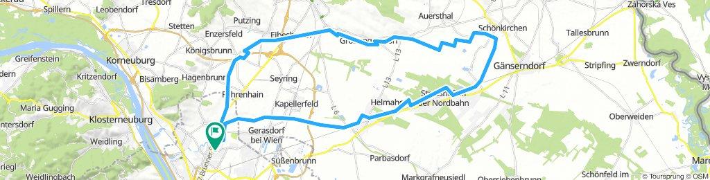2018-08-03 Dampfross - 956er - 5er - Dampfross - Marchfeldkanal
