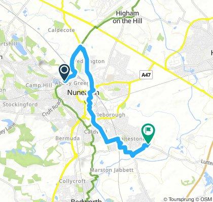 Snail-Like Sunday Track In Nuneaton