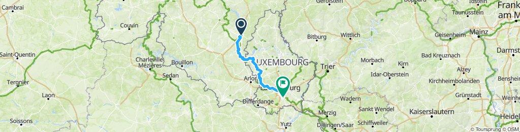 Bastogne, Belgique / Luxembourg, Luxembourg 1