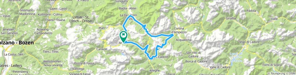 2019 Etapa 3 Giau, Falzarego, Valparola, Campolongo
