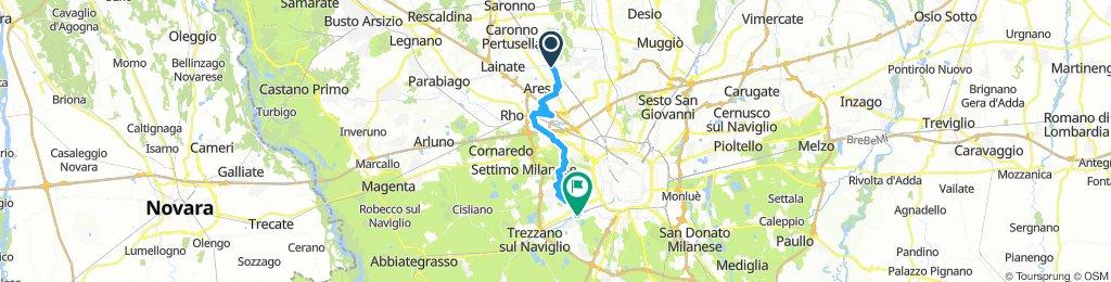 garbagnate Milano navigli