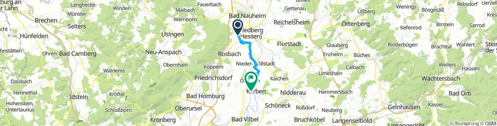 Long Montag Ride In Friedberg (Hessen)