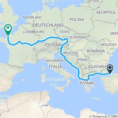 europe à vélo 2