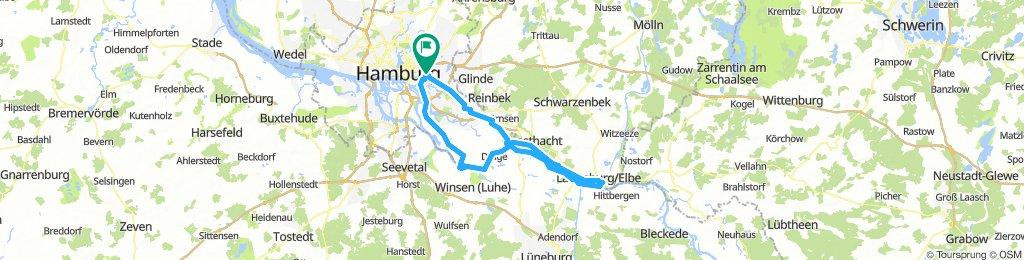 Lauenburg und zurück
