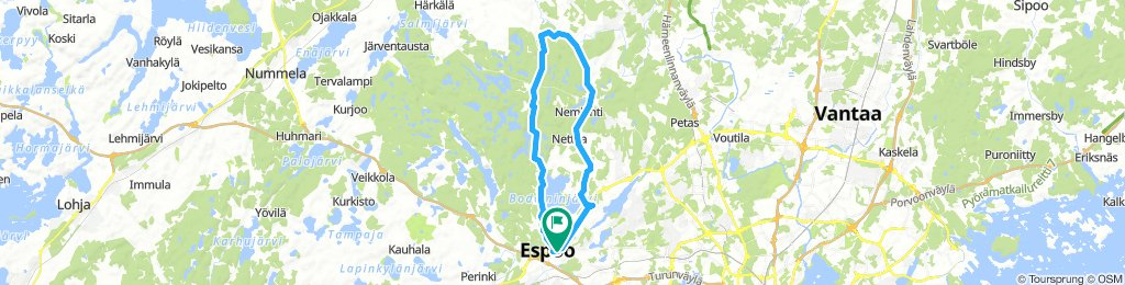Moderate Afternoon Course In Espoo