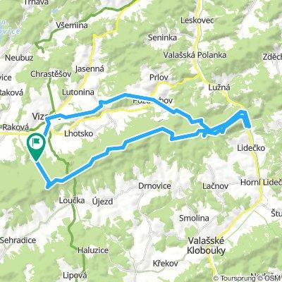 Cyklotrasy 028 - Vizovické vrchy 2