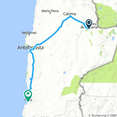 San Pedro de Atacama - Taltal