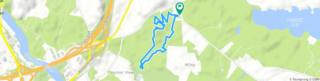 Meadowood Loop Trail, Lorton