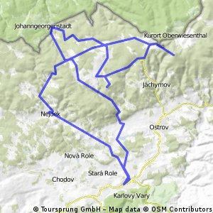 Ctyřikrát nad 1000 m.n.m. v Krušných horách