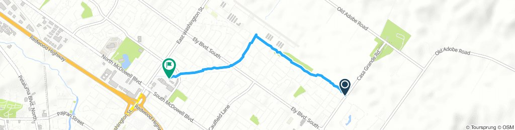 Steady Afternoon Ride In Petaluma