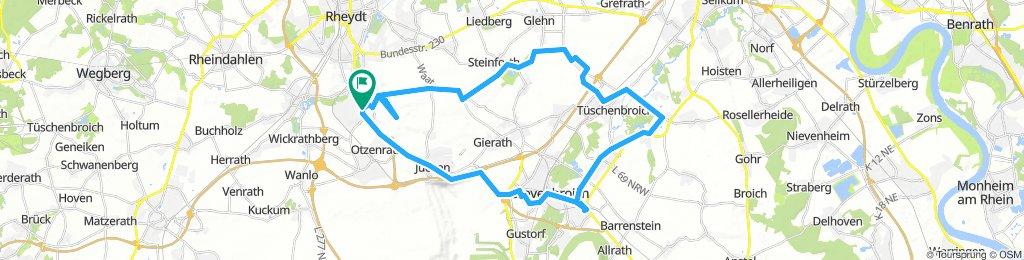 Snail-Like Dienstag Ride In Mönchengladbach
