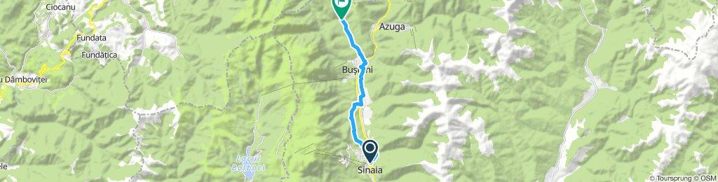 Sinaia -Gura Diham(Ruta care ocolesteDN1)