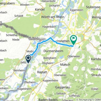 Fähre Seltz - Ettlingen