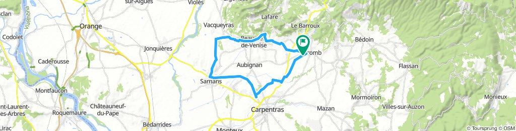 La Syrah (Caromb) - Canal de Carpentras - Via Vennaissia (with J&S)