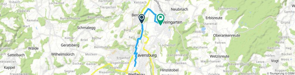 Snail-Like Mittwoch Ride In Weingarten
