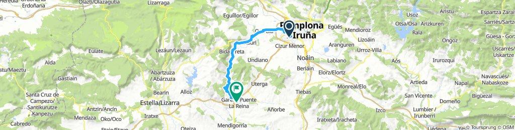Pamplona - Puente La Reina