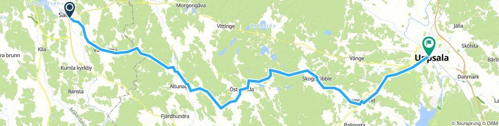 Sala till Uppsala