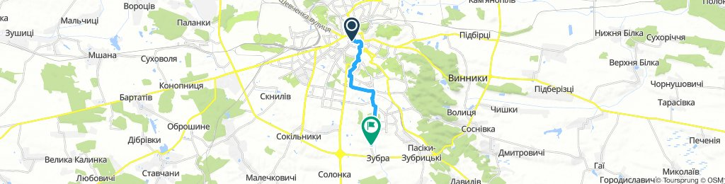 Moderate Afternoon Course In Lviv