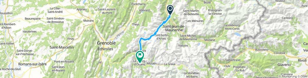 19-06 St.Martin-sur-la-Chambre - Bourg d'Oisans