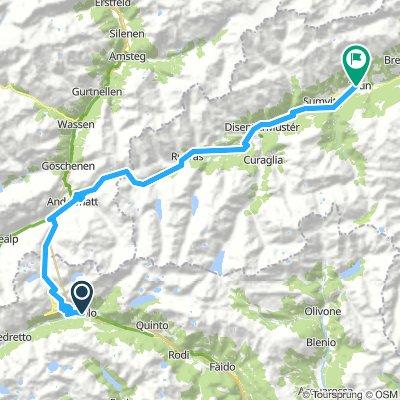18-09-03 Airolo - San Gotthard - Disentis