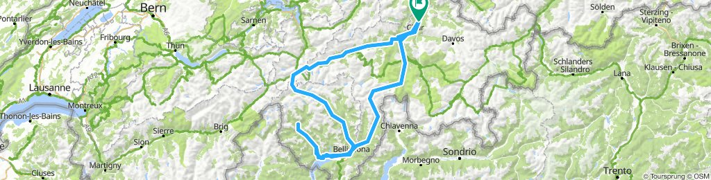 18-09 Transalp San Bernardino Tessin San Gotthard