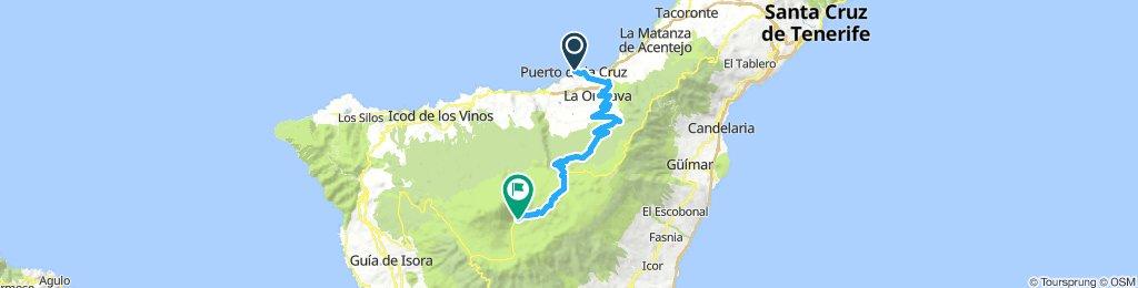 Europa Tour 2015 26 Puertio de la Cruz - El Teide ITT